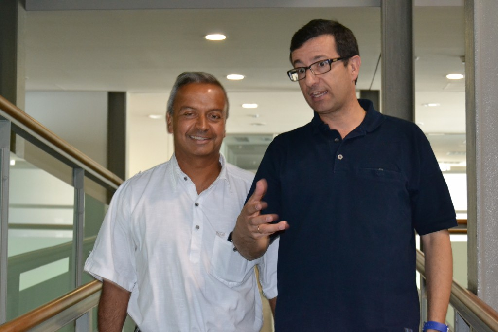 Andy Kaltenbrunner, José García.