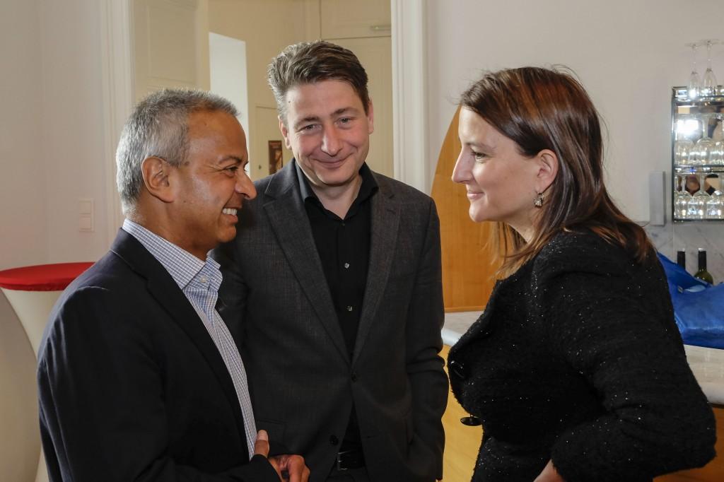 Andy Kaltenbrunner (imim), Nikolaus Forgó (Leibniz Univ. Hannover), Sonja Sagmeister (ORF)