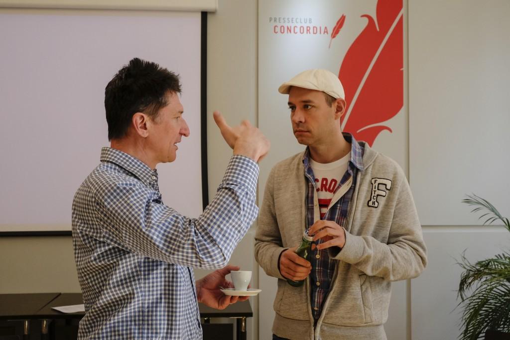Tom Matzek (ORF), Michael Vielhaber (ORF)