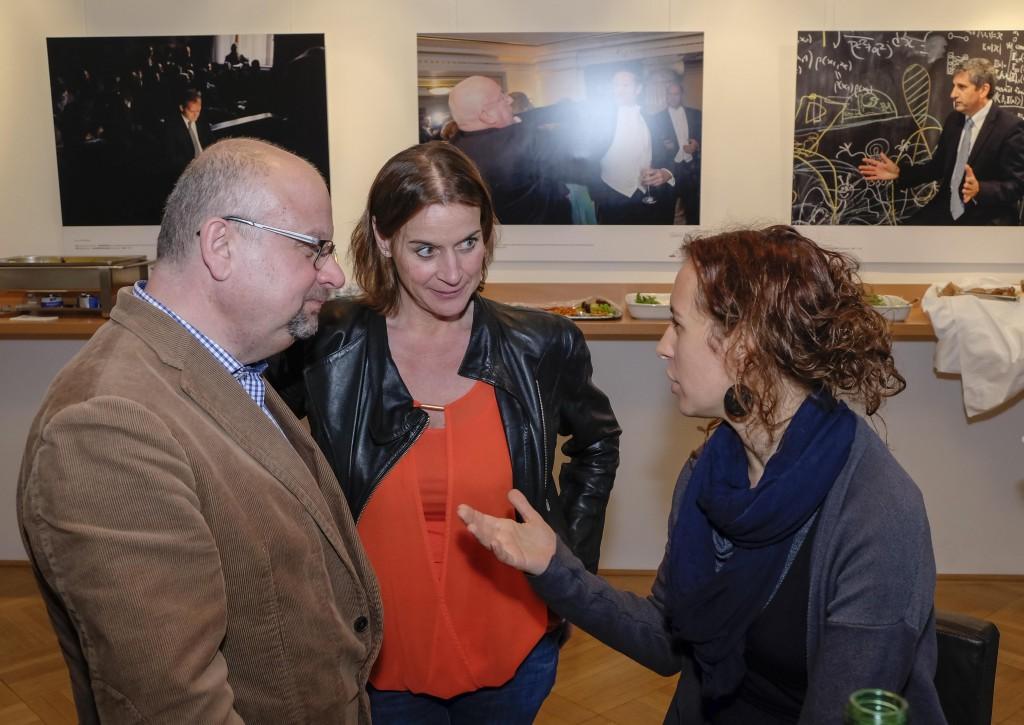 Martin Zimper (ZHdK), Michaela Seemann (ORF), Kim Kadlec (ORF)