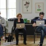 Michael Vielhaber (ORF), Barbara Eppensteiner (Okto), Florian Matscheko (ORF)