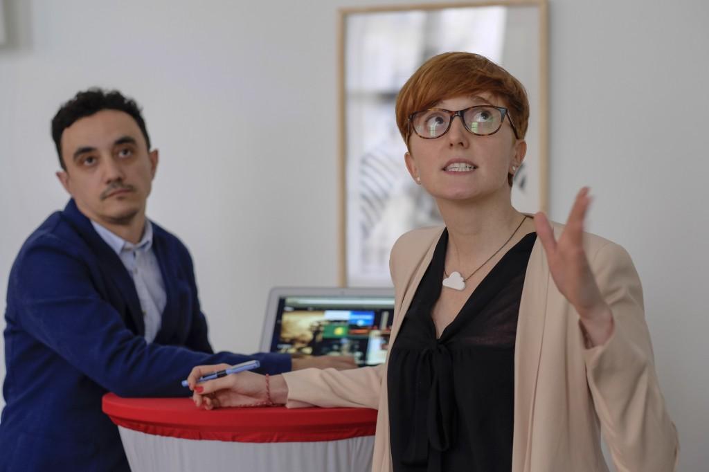 César Vallejo and Miriam Hernánz (RTVE Innovation Lab)