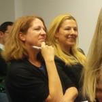 IMIM students Tanja Paar, Karin Strobl