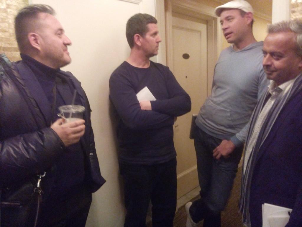 Jeff Mignon, Naser Selmani, Michael Vielhaber, Andy Kaltenbrunner.