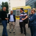 Romanus Otte, Andy Kaltenbrunner, Naser Selmani, Martina Pock.